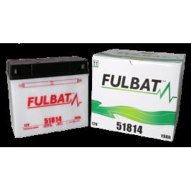 Akumulator 51814 (suchy, obsługowy, kwas w zestawie) Fulbat