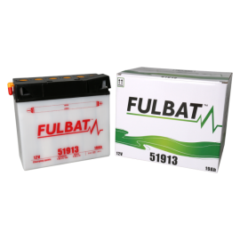 Akumulator 51913 (suchy, obsługowy, kwas w zestawie) Fulbat