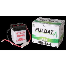 Akumulator 6N4-2A-4 (suchy, obsługowy, kwas w zestawie) Fulbat